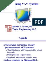 Optimizing Vav System