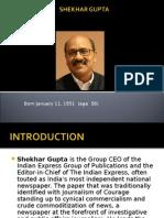 SHEKHAR GUPTA profile