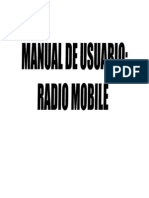 Manual Radio Mobile