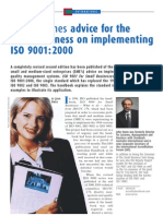ISO-9000 for Small Business