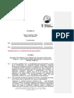 Acuerdo Ministerial 026
