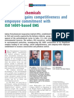 ISO-14001 in Indian Petrochemicals Case