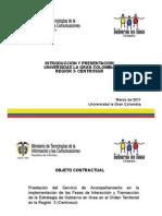 Introduccion y Presentacion Universidad La Gran Colombia Region 3 - Centrosur