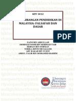 KPF3012 an Pendidikan Di Malaysia