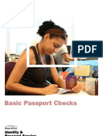 Basic Passport Checking-UK