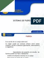 SISTEMAS DE FUERZAS