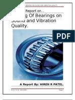 Testing of Bearings