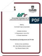 Procedimiernto de configuración TP170