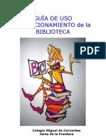 Guia de Uso u Funcionamiento Biblioteca Cervantes