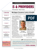 Payers & Providers Midwest Edition – Issue of September 20, 2011