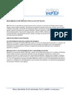 Port a Folio Productos Isb