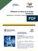 Metologia Linea de Base o Diagnostico Sectorial