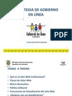 Sitios Web Institucionales