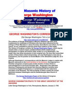 The Masonic History of George Washington