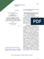 Rodgers v. American Brokers Conduit, Et Al., No. 2-09-Cv-715, 2009 WL 3584323 (D.utah).