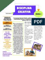 ANUNCIO Disciplina Creativa - Módulo I