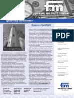 F&M Bank Fall 2011 Newsletter