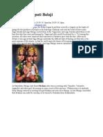 Story of Tirupati Balaji