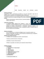 Plano de Ensino Algebra Linear e Geometria Analitica