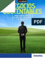 Deloitte Negocios Sustentables Para Empresarios de Hoy
