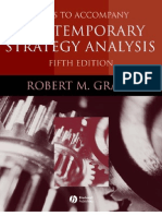 Cases to Accompany Contemporary Strategy Analysis - 1405124083