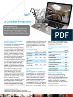 Online Shopping - Canadian Perspective - March 2010