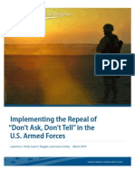 DADT Report by Center for American Progress
