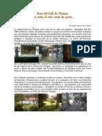 Ruta del Café de Chiapas