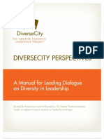 Diverse City Perspectives Manual for Leading Dialogue (07.2011)