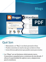 CONCEPTOS EN RELACIÓN AL USO DE Blogs