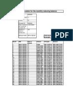 Home Loan EMI Calculator - Copy