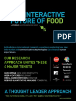 The Interactive Future of Food