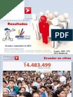 Resultados Censo Ecuador 2010 VERSIÓN FINAL
