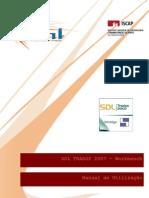 Manual - SDL Trados 2007 - Workbench