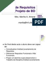 PBD Analise de Requisitos