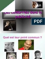 Les célébrités Dans La Publicité-Gpe1