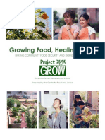Growing Food, Healing Lives - Linking Community Food Security and Domestic Violence