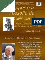 Popper e a Filosofia Da Ciencia