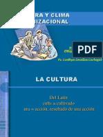 Clase Cultura y Clima Organizacional
