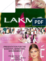 Lakme Presentation