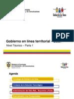 Gobierno en Linea Territorial GELT - Nivel Tecnico Parte 1