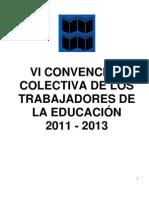 CONTRATO COLECTIVO MPPE 2011-2013