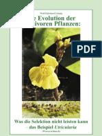 Wolf-Ekkehard Lönnig (2011)-Evolution der karnivoren Pflanzen - Was die selektion nicht leisten kann - das Beispiel Utricularia