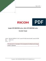 Ricoh Aficio MP 4000 Security