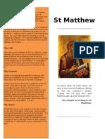 St Matthew Handout