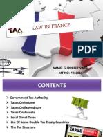France Tax Law