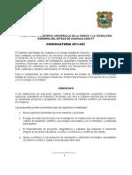 01 Convocatoria Coahuila 2011 C07 Autorizada