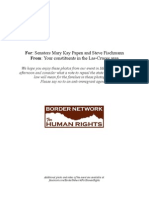 Packet for Papen and Fischmann