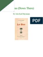 Joris-Karl Huysmans - Là-Bas (Down There) (1891)