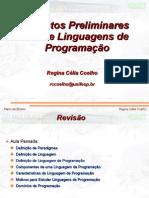 2 -Apectos Sobre Linguagens de Programacao
